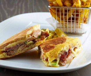 Cuban sandwich at Knife in Dallas