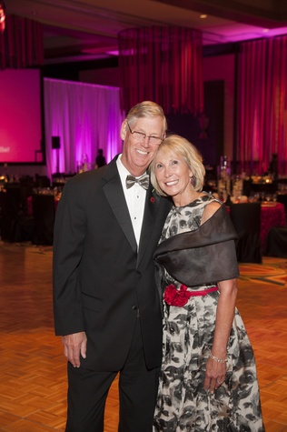 3 Peter and Jeanne Kinnear at Heart Ball February 2015