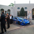 4 The venue at Riezni at the Lamborghini party September 2014