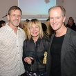 12 Marcus Sloane, from left, Evelyn Gorman and Shannon Hall at Diverseworks' Fashion Fete