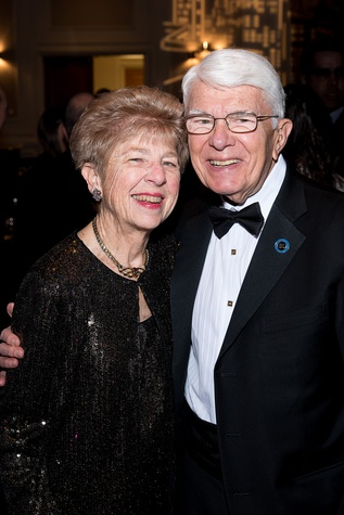 123 Laurie Boniuk and Dr. Milton Boniuk at the Jewish Community Center Children's Scholarship Ball March 2015