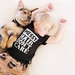 Puppy takes nap with kid