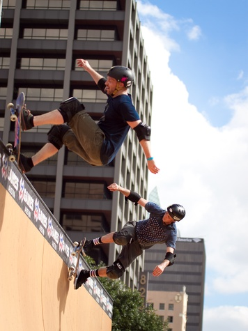 Austin X Games Tony Hawk and Friends Demo