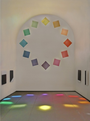 Ellsworth Kelly cathedral blanton museum