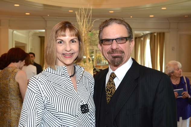 79 Victoria and Marshal Lightman at the Houston Center for Contemporary Craft spring luncheon May 2014