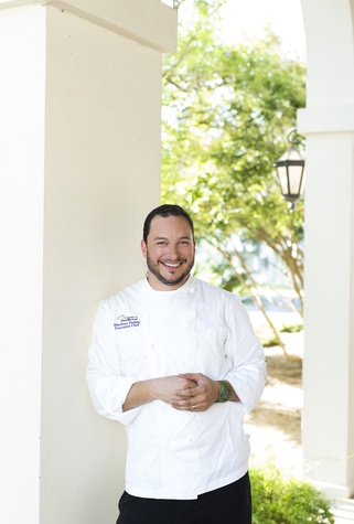 Inn at Dos Brisas chef Matthew Padilla