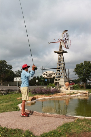 Tall tales and big catches the business of fly fishing for Fly fishing austin texas