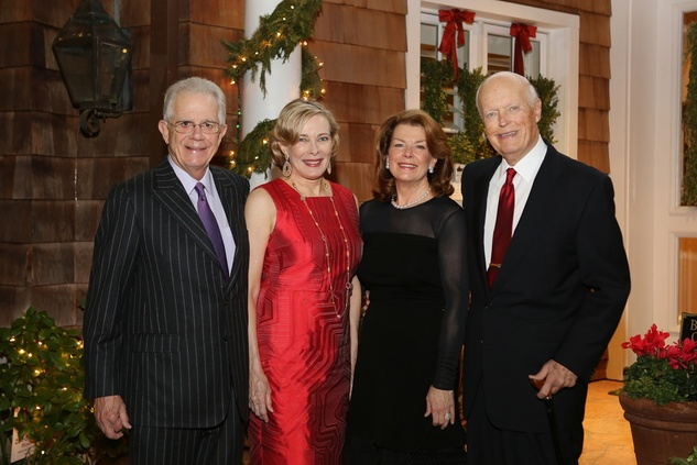 News, Shelby, Alley Theatre Holiday Party, December 2014, Phil John, Josephine John, Kathryn Ketelsen, Jim Ketelsen