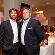 Kenady Davis, left, and Mike Vilece at Bo's Place luncheon February 2014
