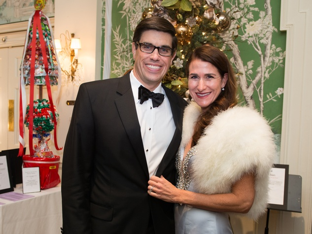 18 John and Kristen Berger at the Trees of Hope Gala November 2014.