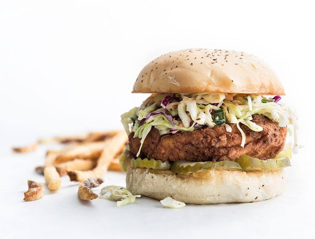 Super Chix chicken sandwich