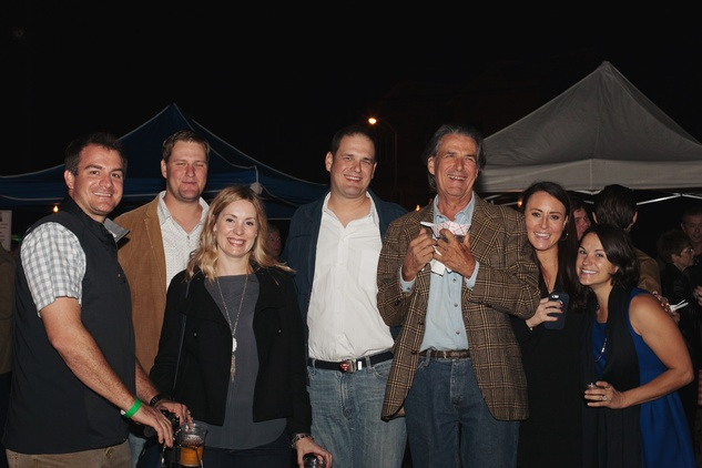 45 Bill Kearney, from left, THE REST MAY BE MIXED UP Ernst Roth, from left, Harry Roth, Stephanie Kearney, Nick Roth, Bill Kearney, Julie Roth and Carli Vogler at the Urban Harvest 10th anniversary dinner November 2014