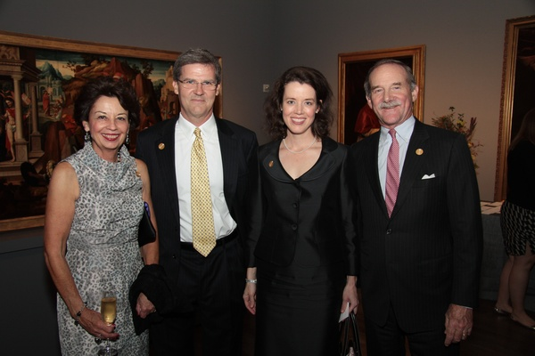 MFAH War Photography dinner, November 2012, Kathy Goossen, Greg Hambrick, Carolyn Watson, Marty Goossen