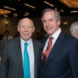 4 Bill White, left, and Richard Everett at the Future of Leadership luncheon April 2014
