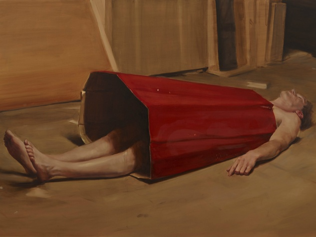 Michaël Borremans, The Devil's Dress, 2011