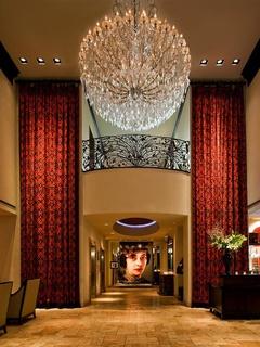 Lobby of Hotel ZaZa in Dallas