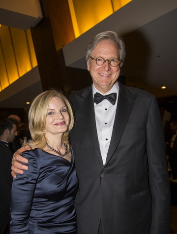 2 Bobbie and Bill Chilton at the Rice Design Alliance Gala November 2014