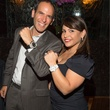 23 Oren Agai and Isabel Sorum at the Hublot dinner party at Tony's October 2013