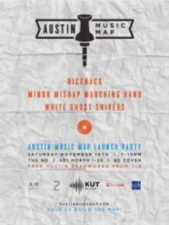 Austin Photo_Events_Austin Music Map_Poster