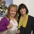 Julie Authier, left, and Crista Hanser at Art on the Avenue November 2013