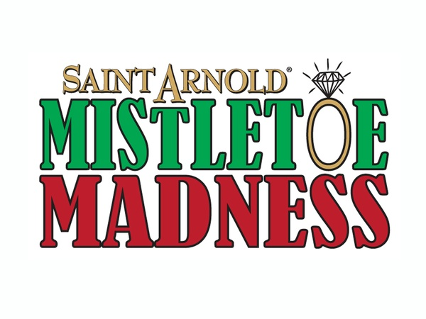Saint Arnold, Mistletoe Madness, logo, December 2012