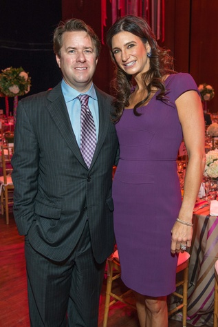 Michael and Melissa Mithoff at the SPA luncheon with Lauren Bush Lauren October 2014