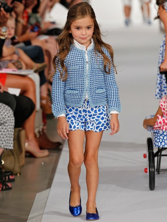 Clifford, Fashion Week spring 2013, Oscar de la Renta, childrenswear, September 2012