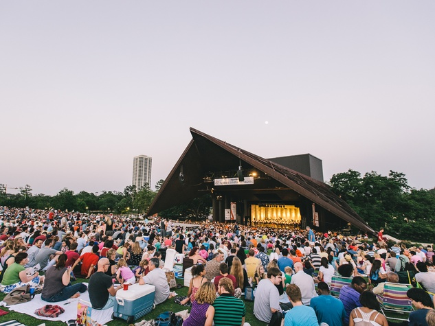 1 Houston Symphony 100th Anniversary Concert June 2013 at Miller Outdoor Theater