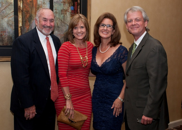 18 Wright and Nancy Moody, from left, with Kris and J. Carter Breed at the Spring Branch Education Foundation Gala October 2014