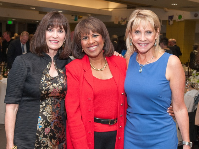 Beacon Fundraiser, October 2012, Linda Bischoff, Melanie Lawson, Carol Vickery