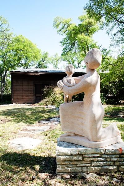 Slideshow An Intimate Look Inside The Preservation Of Austin 39 S Umlauf Sculpture Garden Museum