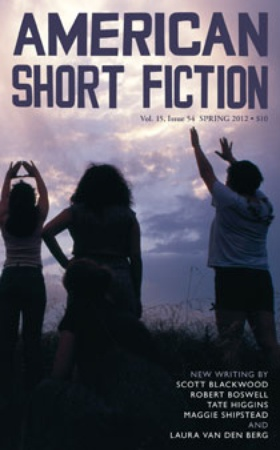 Austin Photo: News_American Short Fiction_Book Cover