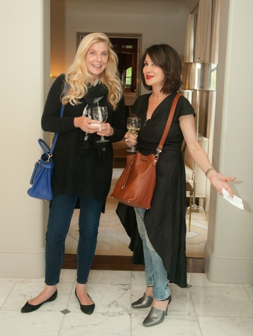 Tribute Goods party, April 2014, Gemma Cunningham, Eve Michaels