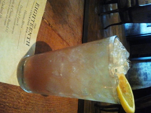Eighteenth Bar, Bootleggers Punch, June 2012