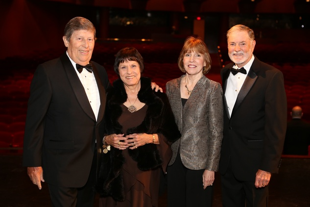 Mercury Gala, April 2016. Vey Spin, Brigid Spin, Linda Sparks, Tom Sparks