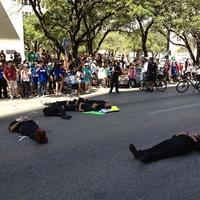 Protestors of immigration reform in Austin