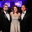 Will Robinson, from left, Amy Esalove and Justin Amador at DREAMSCAPE The Orange Show's 32nd Annual Gala November 2013