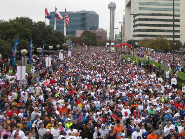Dallas Turkey Trot benefit run