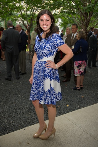 "Alexis Collette at ""The Beacon"" dinner September 2014"