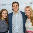 Kendall Harelson, Grant Perry, and Sarah Wagner, YPA kickoff
