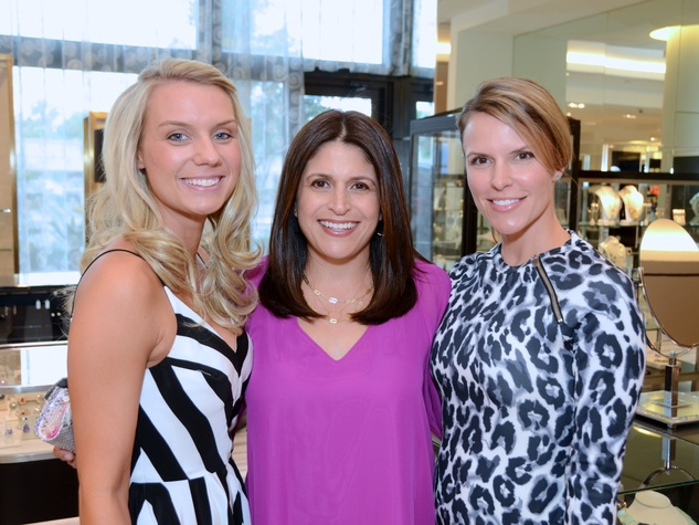 2 Jennifer Grewal, from left, Kristy Demeritt and Victoria Keller at Fashion Gene at Tootsies May 2014