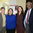 Diane Dillion, Anna Maria Farias (TWU Regent),Candace Henslee (student Regent), Phil Claybrooke