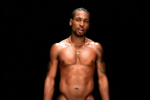 D'Angelo and his famous abs