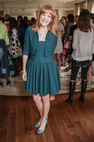 Gracie Cavnar Passion for Fashion luncheon