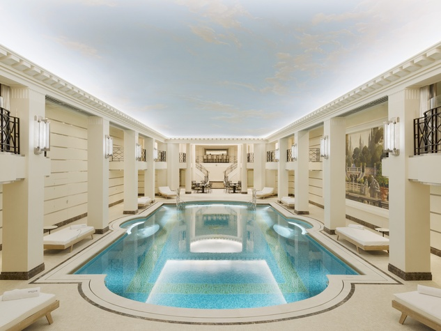 After 450 million renovation ritz paris hotel is drop dead gorgeous culturemap houston for Hotels in paris with swimming pools