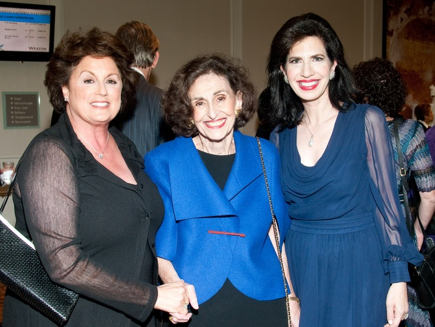 Torch of Liberty dinner, November 2012, Rochelle Jacobson, Lorraine Dell, Dr. Kelli Cohen Fein