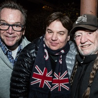Tom Arnold, Mike Myers, Willie Nelson
