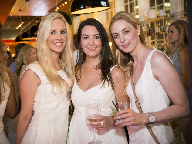 Jackie Doduslo, Jessica Shaw, Martha Young, Wilkinson Center, White Party