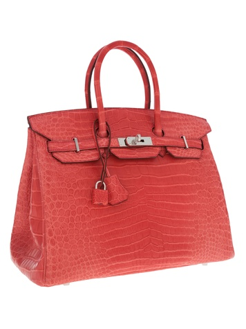Hermes crocodile Birkin bag