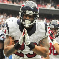 Arian Foster Texans TD bow
